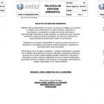 POLITICAS DE GESTION